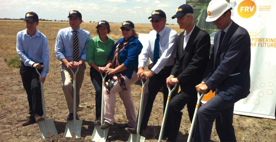 Breaking Ground On Big Solar In Moree Energy Source