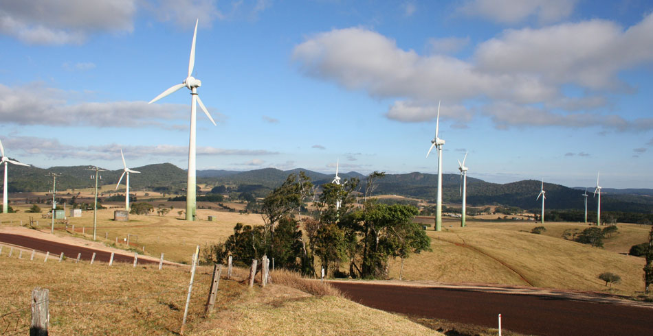 Windy Hill Wind Farm, Atherton Tablelands, Queensland