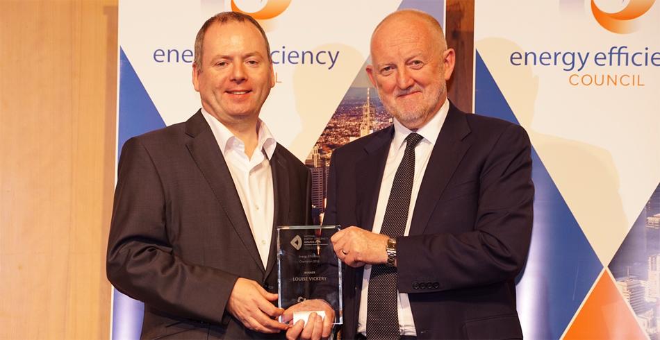 Energy Efficiency Champion 2016 winner Louise Vickery, ARENA.