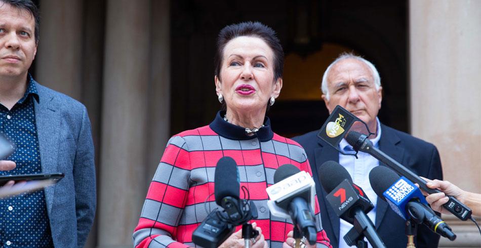 Sydney Lord Mayor Clover Moore