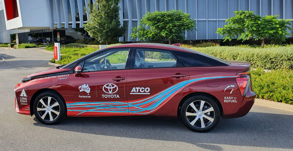 atco hydrogen vehicle